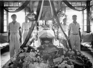 Jenazah Sam Ratu Langie di Tondano