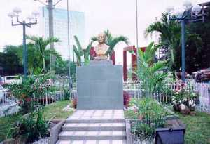 Sam Ratu Langie's Bust in Davao City