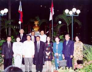 High officials from DAVAO & SULUT attend the ceremony