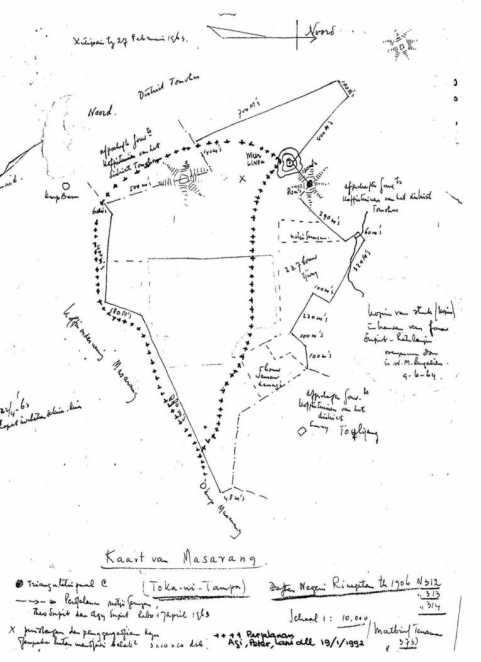 Kopy dari Daftar Negeri Rinegetan tahun 1906(!)