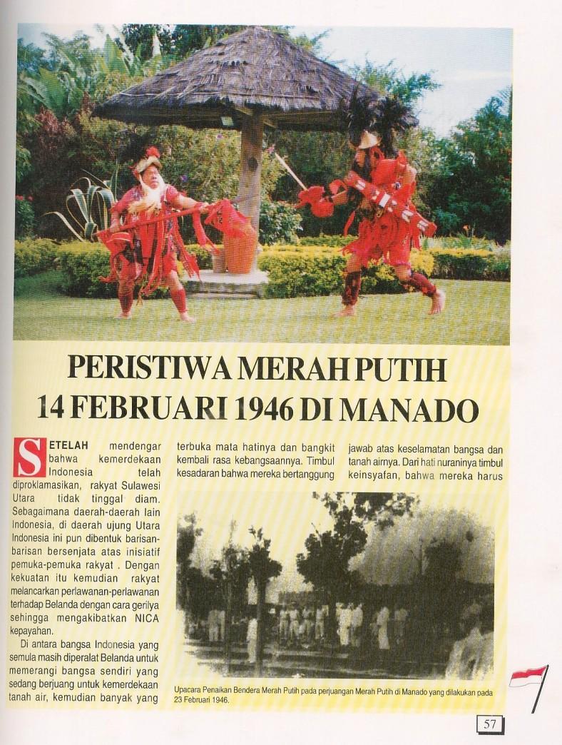 Merah Putih Serentak di Manado (1)
