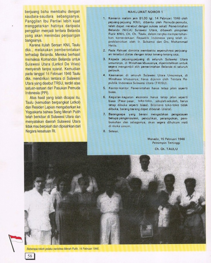 Merah Putih serentak di Manado (2)