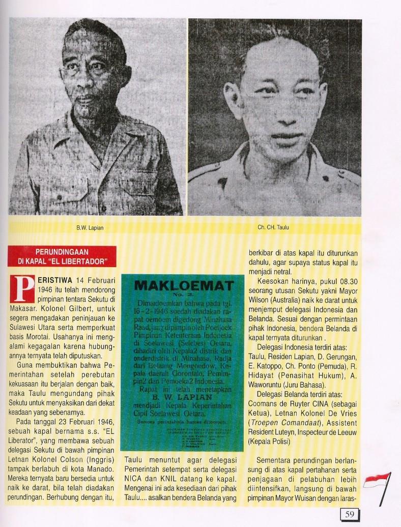 Merah Putih Serentak di Manado (3)