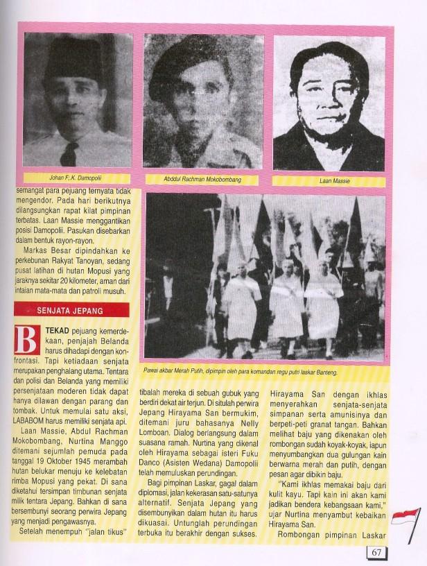 Laskar Banteng Bolaang Monondow (3)