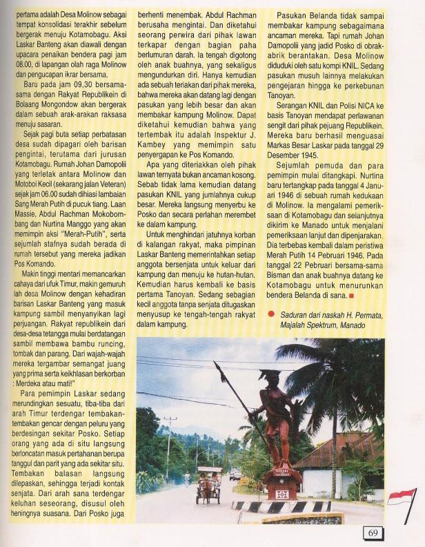 Laskar Banteng Bolaang Monondow (5)