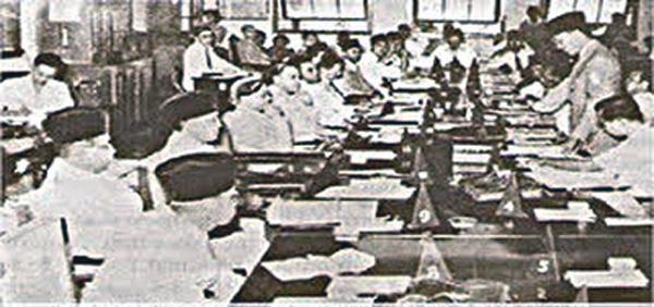 Sidang PPKI, Jakarta, 18 Agustus 1945, Foto dari Wikipedia Bahasa Indonesia