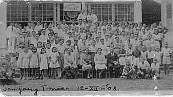 Tandjoeng Oost tempat penampungan istri2 KNIL