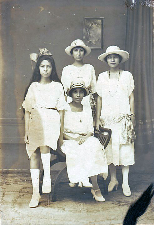 The four TAMBAJONG sisters