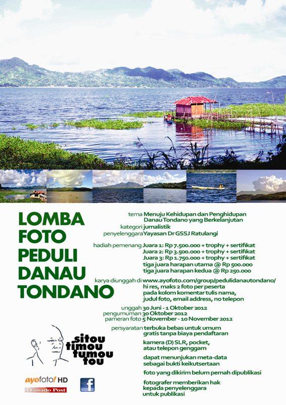 Flyer Lomba Foto dibuat oleh MARINI WIDOWATI