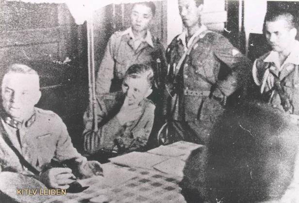 Gen. Ter Poorten surrenders to the Japanese Army in Kalidjati (1942) from Wikipedia