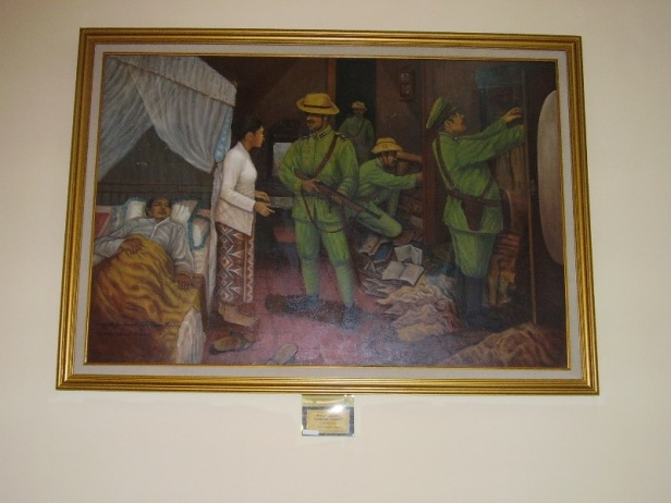 Under arrest the sick MH Thamrin was denied medical assistance (Picture from Thamrin Museum)