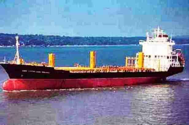 Kapal kontener MS SAM RATULANGIE