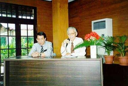 5 Nopember 2000, Jaap Gerungan dan Sinyo Sarundayang